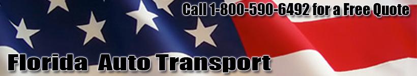 Florida Auto Transport Shipping Logo